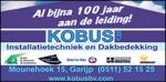 Installatiebedrijf Kobus BV